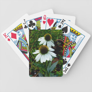 Fall Flower Bicycle Playing Cards