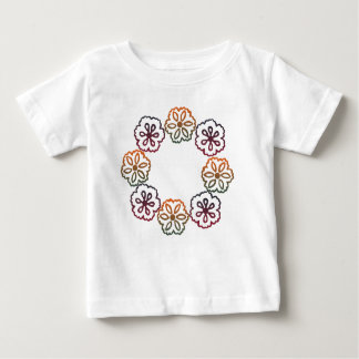Fall Flowers Baby T-Shirt