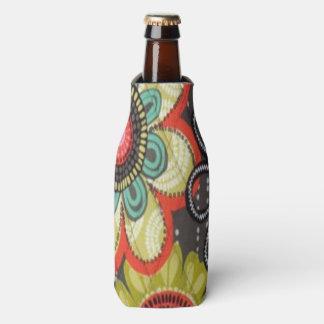 Fall Flowers Bottle Cooler