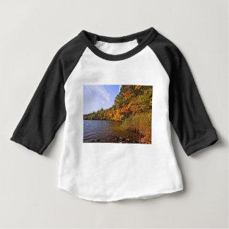 Fall Foliage at Spot Pond Baby T-Shirt