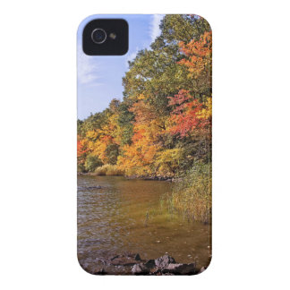 Fall Foliage at Spot Pond iPhone 4 Case-Mate Case