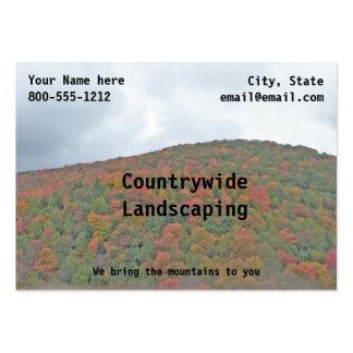 Fall Foliage Business Card Template Autumn Colors