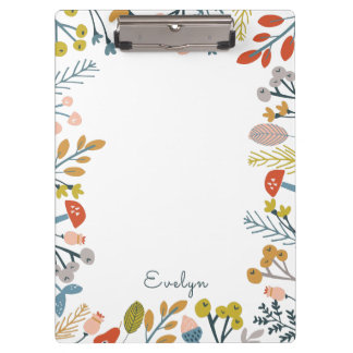 Fall Foliage Clipboard