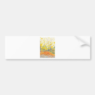 Fall Foliage in Adlershof Bumper Sticker