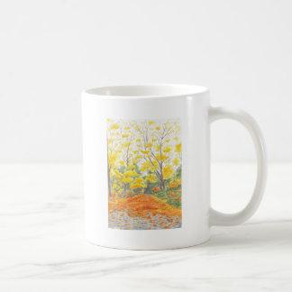 Fall Foliage in Adlershof Coffee Mug