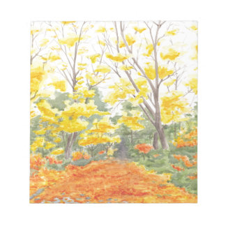 Fall Foliage in Adlershof Notepad