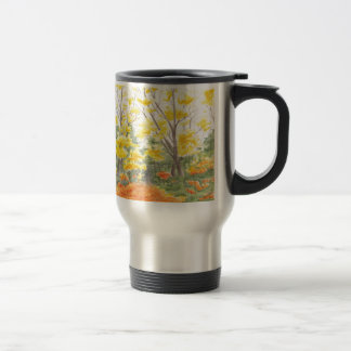 Fall Foliage in Adlershof Travel Mug