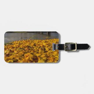 Fall Foliage in Portland Oregon City Luggage Tag