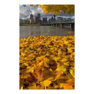 Fall Foliage in Portland Oregon City Stationery