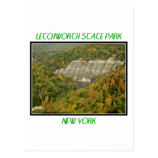Fall Foliage - Letchworth State Park Postcard
