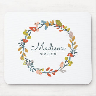 Fall Foliage Mouse Pad