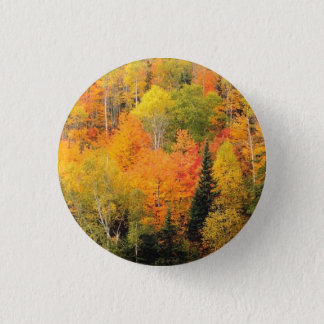 Fall Foliage Valley 3 Cm Round Badge