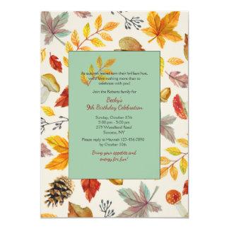 Fall Frame Invitation