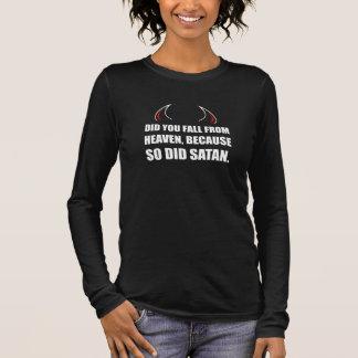 Fall From Heaven Satan Long Sleeve T-Shirt