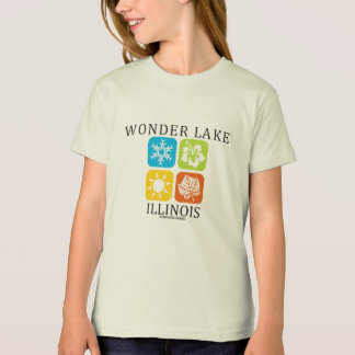 fall Girls' American Apparel Organic T-Shirt