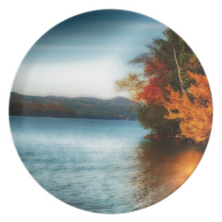 Fall Glow Dinner Plates