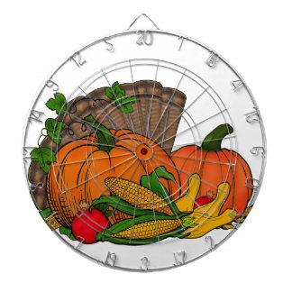 Fall Harvest Dartboard