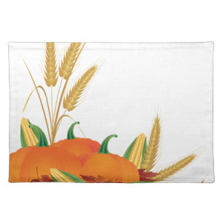 Fall Harvest Illustration Placemat