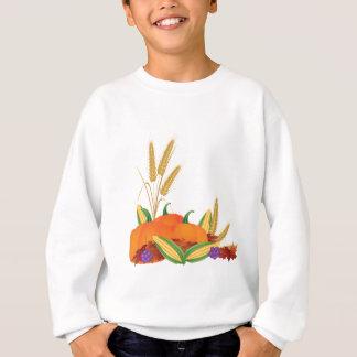 Fall Harvest Illustration Sweatshirt