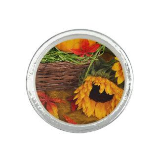 Fall Harvest Sunflowers