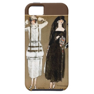 Fall Haute Couture 1920s Illustration iPhone 5 Case