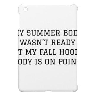 Fall Hoodie Body iPad Mini Covers