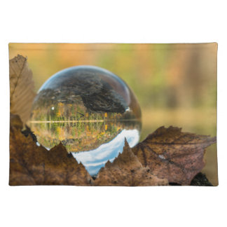 Fall in a ball placemat