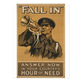 Fall In Answer Now Post Card