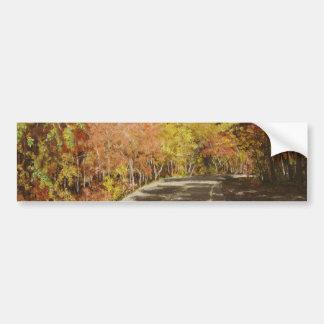 Fall in Arkansas#3 Painting Bumper Sticker