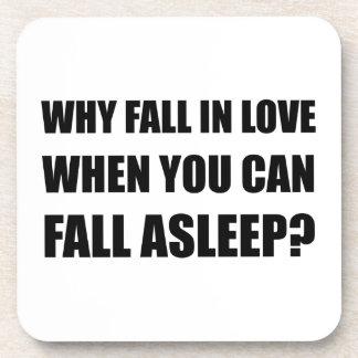 Fall In Love Asleep Coaster