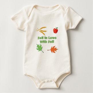 Fall In Love Baby Bodysuit