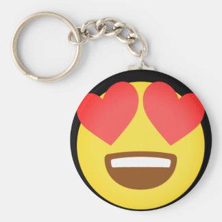 Fall In Love Emoji Key Ring