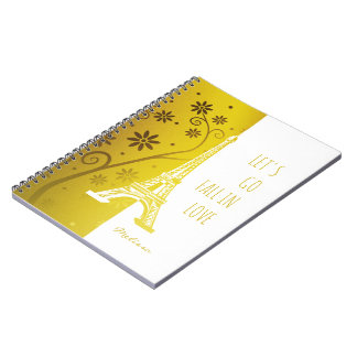 Fall in love Paris | Umique Eiffel Tower Notebooks
