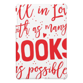 fall in love with books as possible iPad mini cases