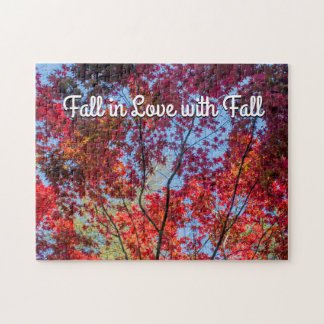 Fall in Love with Fall Puzzle