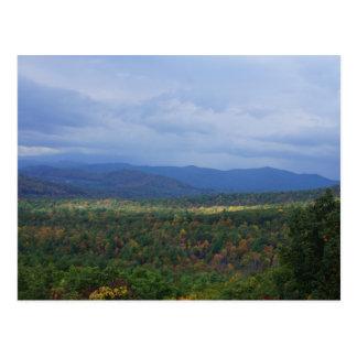 Fall in the Blue Ridge Mountains Postcard