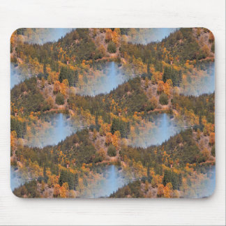 Fall in the mountains... mouse pad