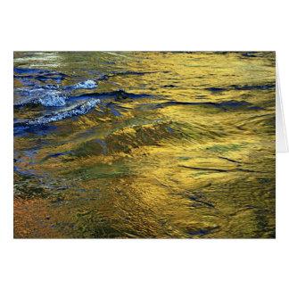 Fall in the River II Card