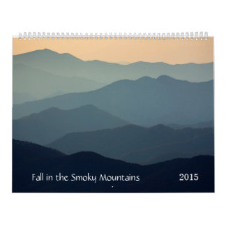 Fall in the Smoky Mountains Calendars