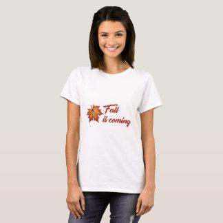 Fall is coming women shirt