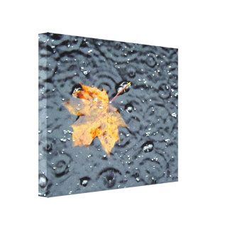 Fall is Washing Away Gallery Wrap Canvas