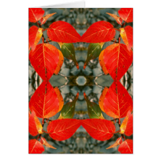 Fall Kaleidoscope Card