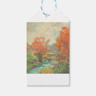 Fall Landscape - Midwest, USA Gift Tags