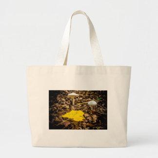 Fall Leaf and Mushrooms Bag