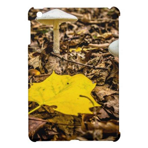 Fall Leaf and Mushrooms iPad Mini Covers