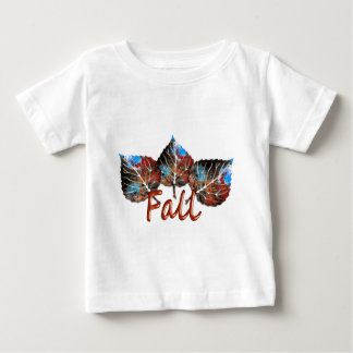 Fall Leaf Image Baby T-Shirt
