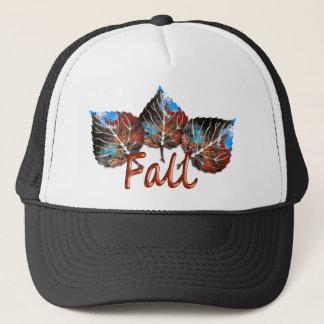 Fall Leaf Image Trucker Hat