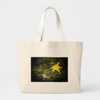 Fall Leaf on Moss Bags