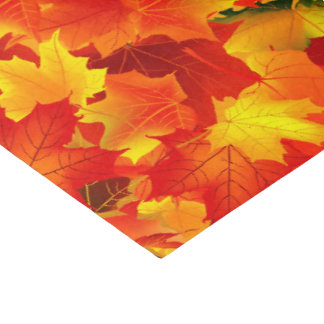 Fall leaf pattern tissue paper