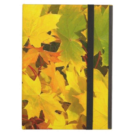 Fall Leaves Autumn Colors Leaf Design iPad Air Case